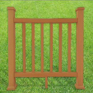 Waterproof Wood Plastic Composite for Riverside Fence Railing