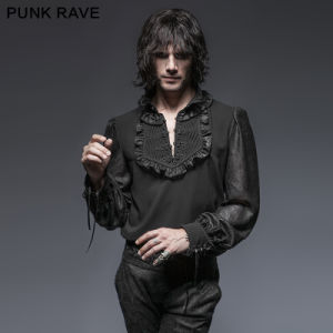 Y-639 Gothic Spring Christmas Plate Buttons Attractive Man Shirts pictures & photos