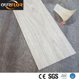 2.0mm Thick Wood-Grain PVC Tile pictures & photos