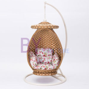 by-485 Indoor Balcony Pure Weaving Leisure Rattan Nest Swing pictures & photos