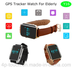 Elderly GPS Tracker Watch with with GPS+WiFi+Lbs+Beidou (Y16) pictures & photos