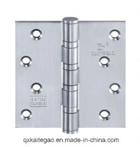 Stainless Steel Ball Bearing Wooden Door Hinge (30435--4BB/2BB) pictures & photos