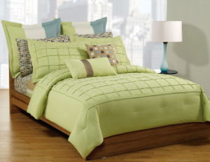 Pintucked Espresso Comforter Set More Colors pictures & photos