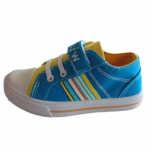 Children Canvas Orthopedic Casual Shoes High Quality Custom Printed Shoes pictures & photos