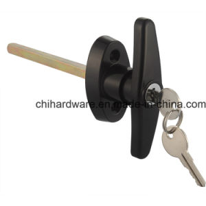 Shed Door and Window Hardware, Door T Handle Lock pictures & photos