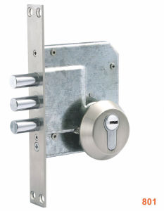 Iron/Zinc Safe Door/Security Door Lock (801) pictures & photos