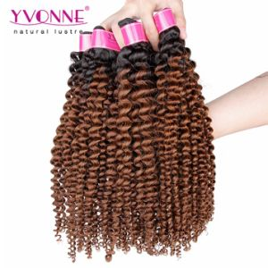 Brazilian Ombre Hair Extension 100% Human Hair pictures & photos