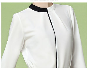 Fashion Long Sleeves Causal Blouse Women Clothing pictures & photos