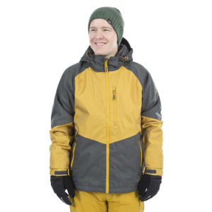 Two Colours Combination Mens Waterproof Breathable Padded Ski Jacket pictures & photos