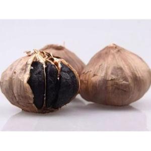 Whole Black Garlic Multi Bulb Black Garlic pictures & photos