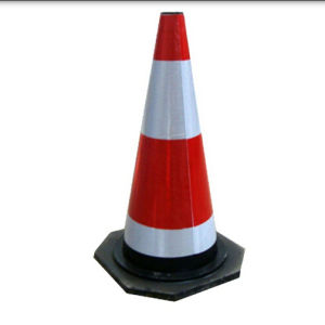 Traffic Cone with Reflective Tape pictures & photos