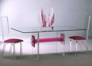 Modern Home Furniture Glass Dining Table Set From China Manufacturer