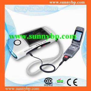 Portable 3 in 1 Mini Solar LED Flashlight pictures & photos