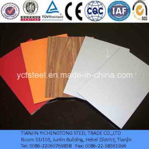Easy Clean Wood Grain Aluminium Composite Panels pictures & photos