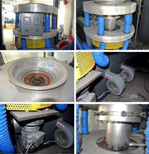 Three-Layer Common-Extruding Rotary Die-Head HDPE LDPE Film Blowing Machine pictures & photos