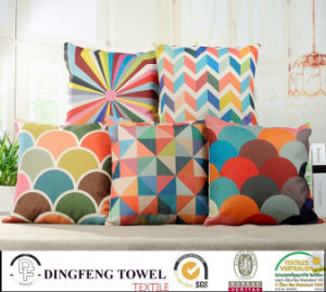 2016 Hot Sales Digital Printed Cushion Cover Df-9817 pictures & photos