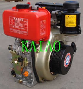 6kw Air-Cooled Single Cylinder Diesel Engine KA186F pictures & photos