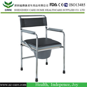Folding Commode Chair Without Wheels