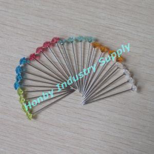 38mm Colorful Clear&Plastic Diamond Head Wedding Pins
