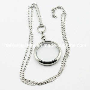 Fashion and Hot Sale Stainless Steel Necklace with Locket Pendant pictures & photos