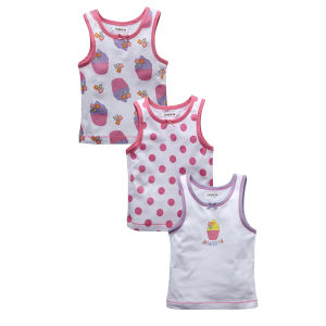 Great Quality Pure Cotton 12-24month Girl Camisole Kids Clothing pictures & photos