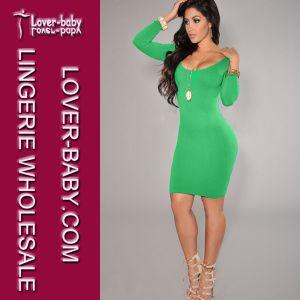 Lady Bodcyon Green Plus Size Sexy Clubwear (L27898-1) pictures & photos