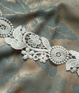 Fashionable Water Soluble Trim Lace