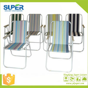 Metal Spring Folding Beach Chair Fold up Chair (SP-131) pictures & photos