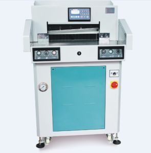 21 Inch Hydraulic Program Paper Cutter Machine (HS520T) pictures & photos