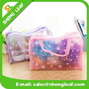 China Cheap PVC Cosmetic Bag with Zipper pictures & photos
