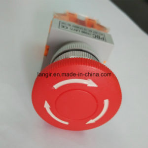 Y090 Plastic Emergency Push Button Switch pictures & photos