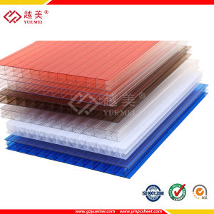 with UV Protection Polycarbonate PC Sun Sheet/Hollow Polycarbonate Panel pictures & photos