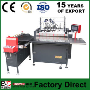 Semi-Automatic Covering Machine Box Files Making Machine pictures & photos