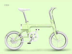 Fashionable floding electric bike YUNBIKE F1