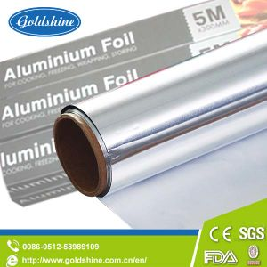 Aluminum Foil Winding Roll for Food Packaging Cooking Storing pictures & photos