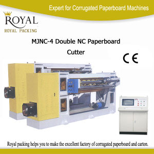 Double Nc Paperboard Cutter for Paperboard pictures & photos