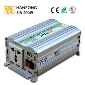 Cheap Price Good Quality 200W Solar Car Power Inverter pictures & photos