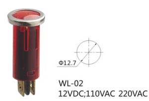 Fire Alarm LED Indicator Light, Indicator Light Lamp (Wl-02) pictures & photos