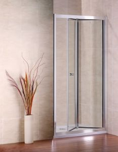 Bi-Fold Shower Door Simple Shower Room Shower Cubicle Shower Screen Bathroom Furniture pictures & photos