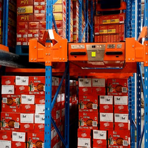 Hot Sale Radio Shuttle Racking System pictures & photos