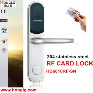 Waterproof Hardware Access Control Hotel Door Lock (HD6016) pictures & photos