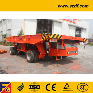 Self-Propelled Hydraulic Platform Trailer (DCY50) pictures & photos