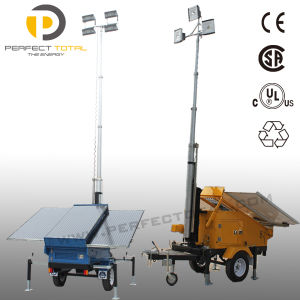 Top Bright Mobile Solar Light Tower pictures & photos