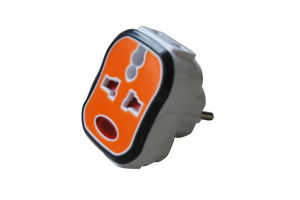 AC DC Power Travel Plug with Indicator Lamp pictures & photos