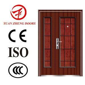 China Exterior Swing Double Entry Door pictures & photos