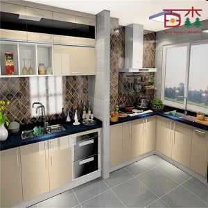 Hot sales china made cheap cost high gloss lacquer small for Cheap gloss kitchen units