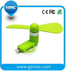 Promotional Gift Mini USB Fan for Smartphone pictures & photos