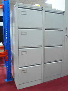 School Commercial Office Use Vertical 4 Drawer File Cabinet pictures & photos