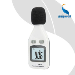 Portable 4 Digits Max Digital Large LCD Sound Level Noise Monitor Meter - GM1351 pictures & photos