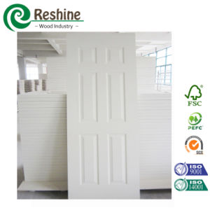 35mm Modern Design HDF White Primer Door Leaf